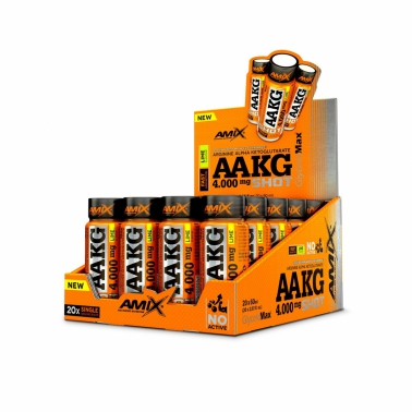 AAKG 4000mg SHOT 20 x 60ml
