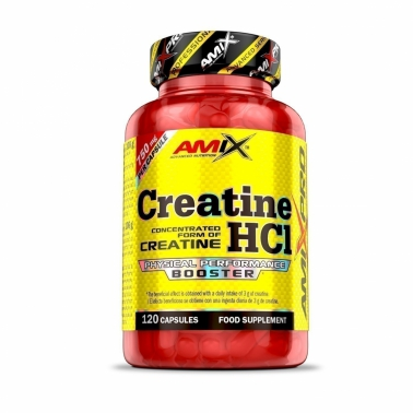 Creatine HCL 120cps.