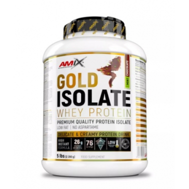 Gold Whey Protein Isolate 2280g.