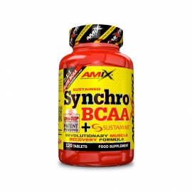 Amix™ Synchro BCAA + Sustamine® 120tbl.